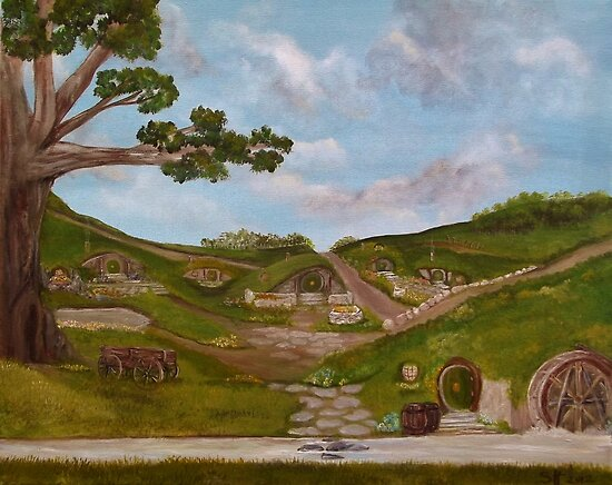 Here be Hobbits... by Susie Hawkins