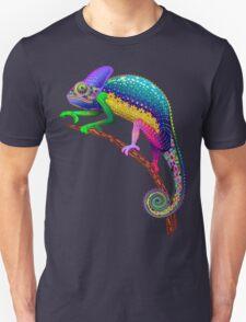 Chameleon Fantasy Rainbow Colors T-Shirt