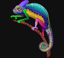 Chameleon Fantasy Rainbow Colors Unisex T-Shirt