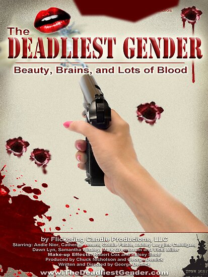 Deadliest Gender Movie Poster Tee by fcpproducts