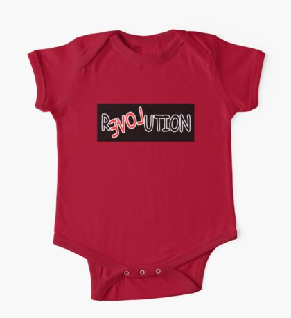 Love is the Revolution Kids Clothes