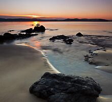 Blinking Billy Beach #2, Tasmania by Chris Cobern