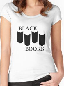 Black Books tshirt Women's Fitted Scoop T-Shirt