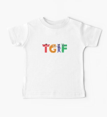 TGIF Monsters Baby Tee