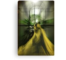 glowing statue Canvas Print