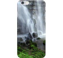 Waterfall at Swallet Falls iPhone Case/Skin