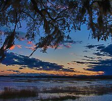 Beaufort Harbor Sunset by Jeff Johannsen