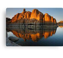 Reflection Rock 2 Canvas Print