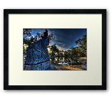 Aquamagic Framed Print