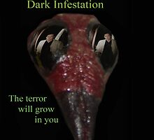 Dark Infestation Movie Poster Tee by fcpproducts