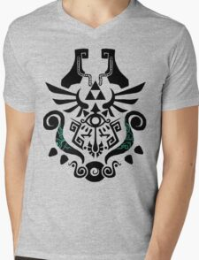 Legend of Zelda (mashup) Mens V-Neck T-Shirt