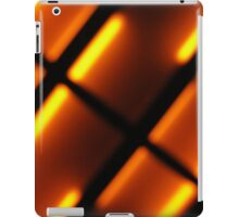 orange abstract iPad Case/Skin