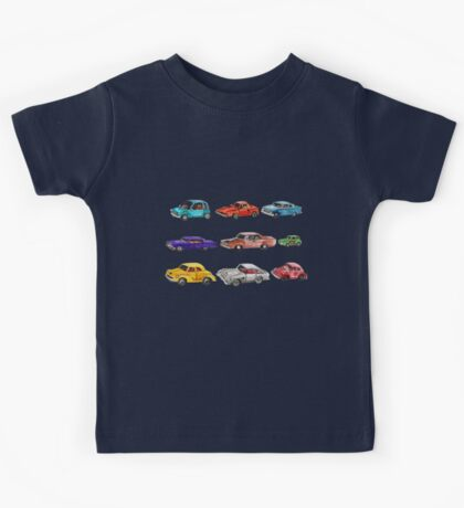 Car collection  Kids Tee