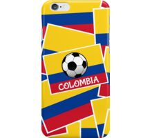 Colombia Football iPhone Case/Skin