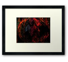 Global Warming... Framed Print