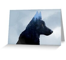 Double Exposure: Canon - Landscape Greeting Card
