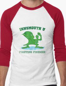 The Fighting Fishmen Men's Baseball ¾ T-Shirt