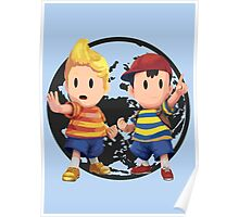 Ness and Lucas Poster