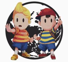 Ness and Lucas Baby Tee