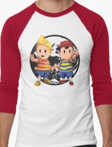 Ness and Lucas Men's Baseball ¾ T-Shirt