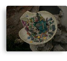 Fossil Hat / Straw Head  Canvas Print