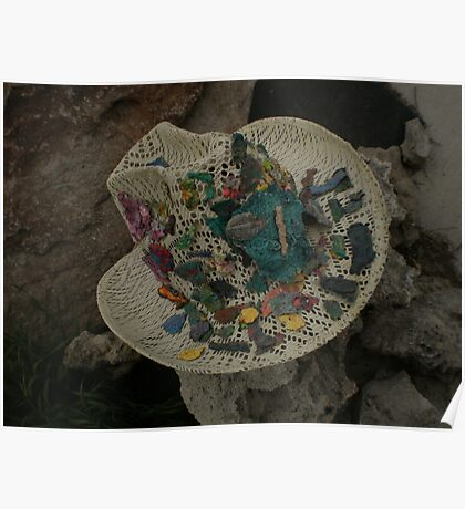 Fossil Hat / Straw Head  Poster