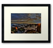 Sunrise Fairy Bower-Manly Framed Print
