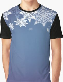 Snowflakes; New Year; Christmas; winter. Graphic T-Shirt