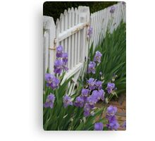 Iris Gate Canvas Print