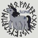 My Little Sleipnir by Amiteestoo