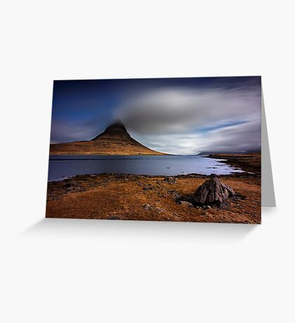 Eruption of Emotions Greeting Card