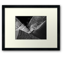 Bridge across the Bremer, Callington Framed Print