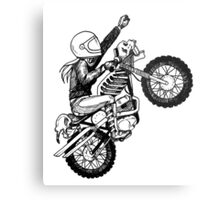 Women Who Ride - Dare Devil Metal Print