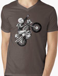 Women Who Ride - Dare Devil Mens V-Neck T-Shirt