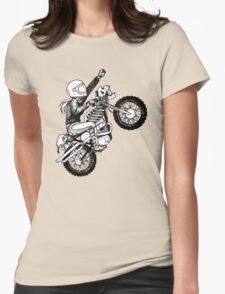 Women Who Ride - Dare Devil Womens Fitted T-Shirt