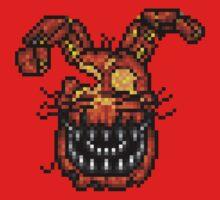 Jack-O-Bonnie - Five Nights at Freddy's 4 Halloween - Pixel art Kids Clothes
