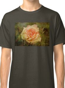 Damaged ~ a Rose with a Message Classic T-Shirt