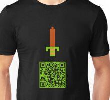 It's dangerous to QR alone! Unisex T-Shirt
