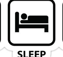 Eat Sleep Oil Sticker