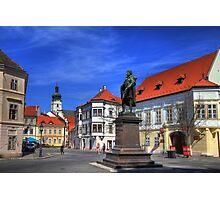 Győr's square II Photographic Print