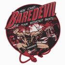 Baredevil Sticker 2 by CoDdesigns
