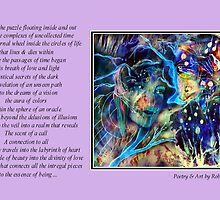Poetry in Art - Labyrinth by Robin Monroe