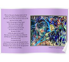 Poetry in Art - Labyrinth Poster