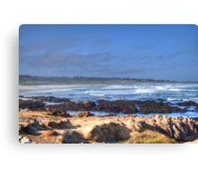 Rocks Before Beach Canvas Print