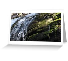 Connecticut waterfall Greeting Card