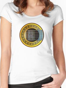 Flamenco Guitar by rafi talby Women's Fitted Scoop T-Shirt
