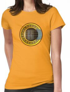 Flamenco Guitar by rafi talby Womens Fitted T-Shirt