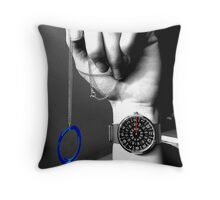 Time and Portals. Throw Pillow