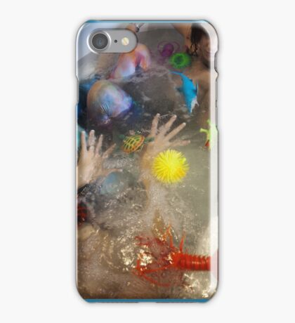 Tub leggings iPhone Case/Skin