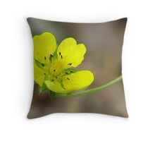 Dwarf Cinquefoil Throw Pillow